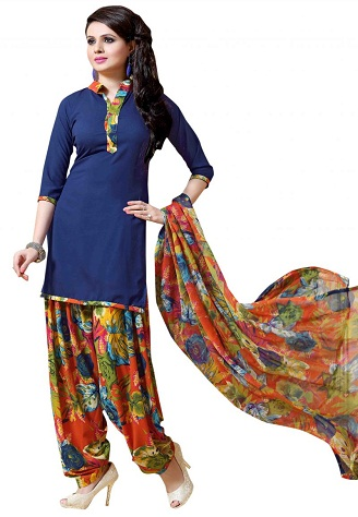 printed salwar suit designs