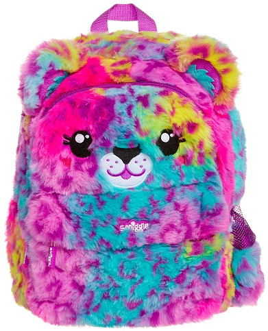 Fluffy School Bag for Young Ones -5
