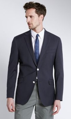 Formal Cotton Blazer