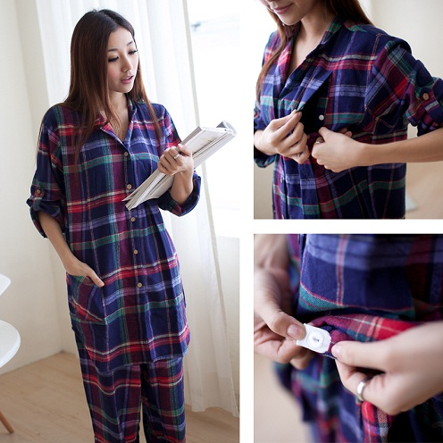 Full body covering maternity night suit