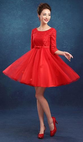 Gals now - Maternity Mini Prom Dress