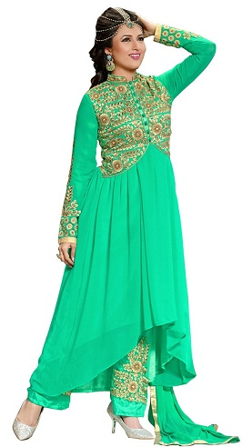 Jacket Style Designer Salwar Suits
