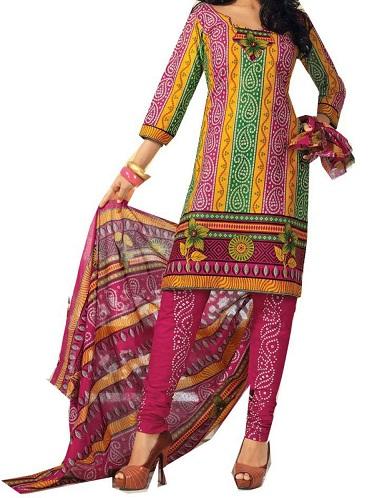 Jaipuri Print Salwar Suit