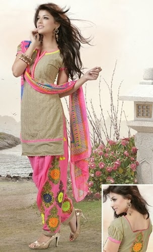 Kashmiri Embroidered Salwar Kameez Suit