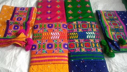 Kutchi Bandhani Salwar Suit