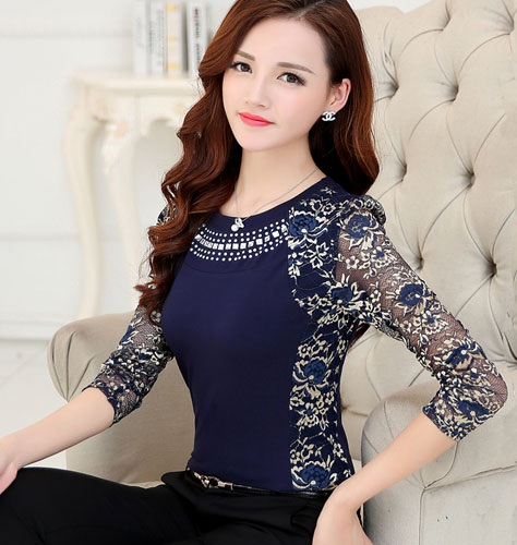 latest women blouse with excellent creativity in singapore