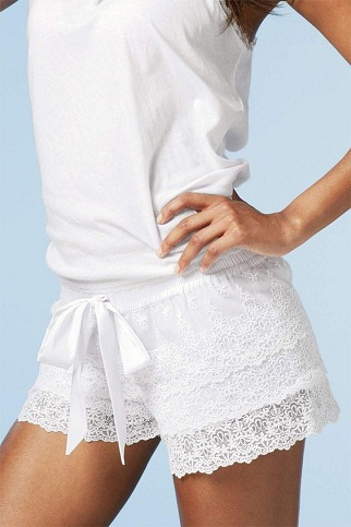 Laced Night Shorts