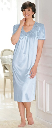 921c17e4bc1 9 Comfortable Daily Wear Satin Nightdress Types for Ladies