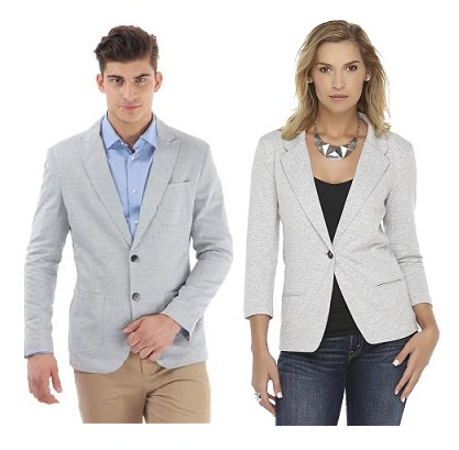 Latest Designs of Grey colour Blazers for Men and Women