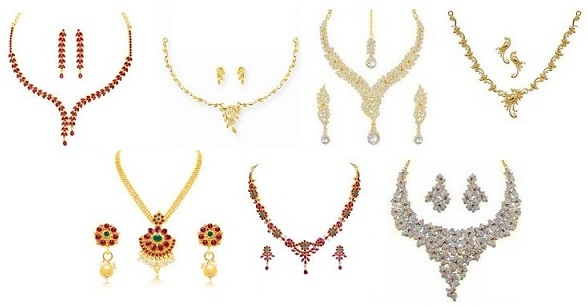 Latest Indian Jewellery Necklace Set Designs for Ladies