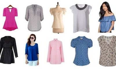 Latest Stylish Blouse Tops in Fashion