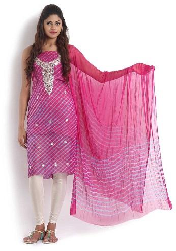 Leheriya Punjabi Salwar Suit