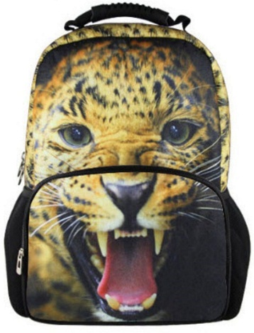 Leopard School Bag -17