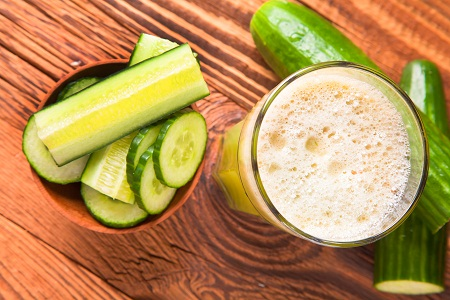 Lettuce, Mint and Cucumber Magic For Skin Whitening