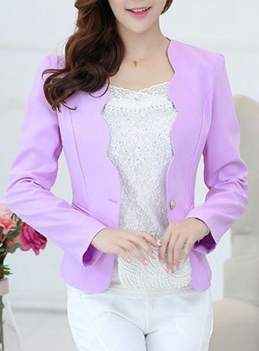 Light Purple Blazer