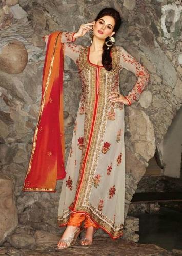 Long Fancy Ready Made Salwar Suits