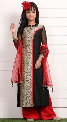 Long Kid's Salwar Suit