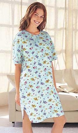Long t-shirt nighty