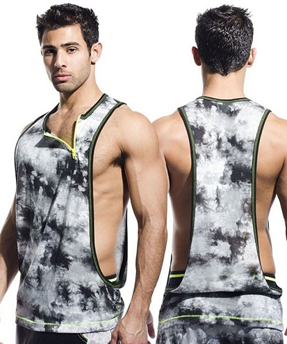 Men's designer tank tops