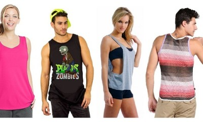 Modern Designs of Tank Tops in Fashion