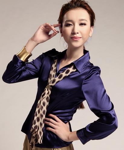 Mulberry Silk Shirt Top
