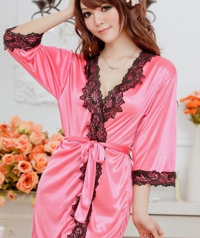 Nightgown with Robe