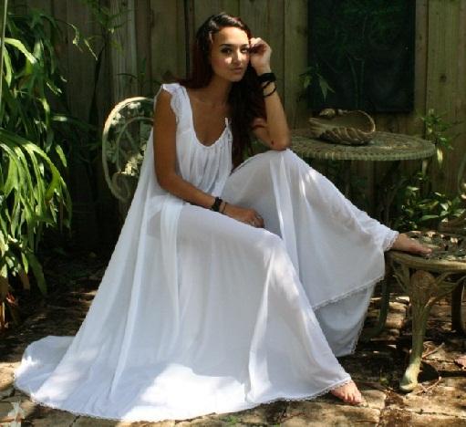 Nylon Night Gown