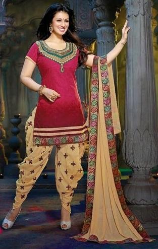 Pakistani Dhoti Style Salwar Kameez