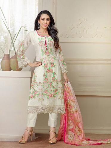 Pakistani Embroidered Salwar Suit