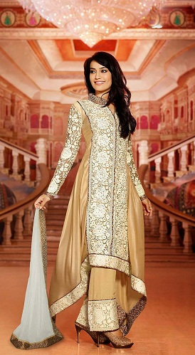 parallel salwar suit