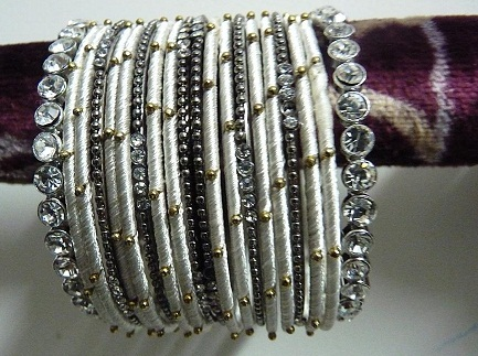Party wear Metal Bangles for Girls