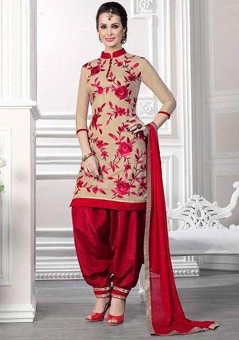 Patiala Salwar Top. 9 Latest Neck Salwar Top Designs for Girls in Trend