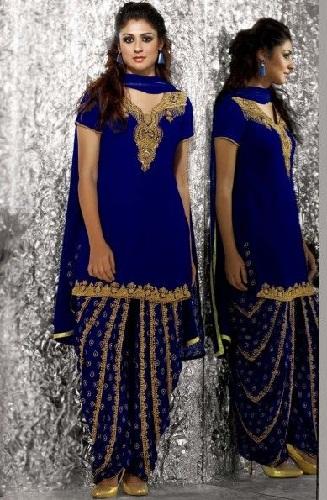 Patiala Style Ready Made Salwar Kameez