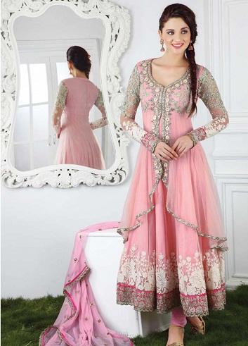Pink Bridal Salwar Suit