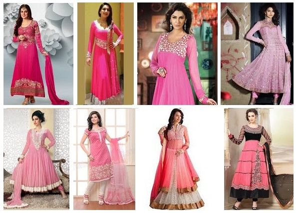 pink salwar suits