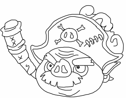 Kleurplaten Angry Birds Epic.Angry Birds Pigs Coloring Pages Www Picturesso Com