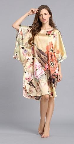 Plus Size Silk Nightwear