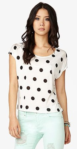 Polka dots top