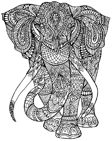 picture regarding Animal Printable Coloring Pages named Visuals of Printable Animal Coloring Webpages For Grownups