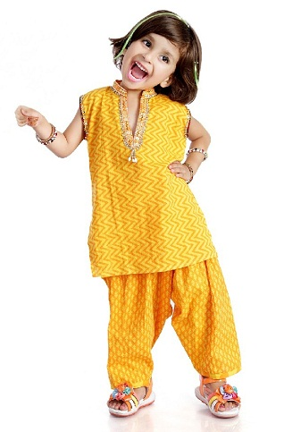 Printed Salwar Suit for Kids