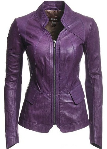 Purple Blazer Jacket