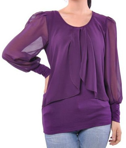 Purple Top for Women