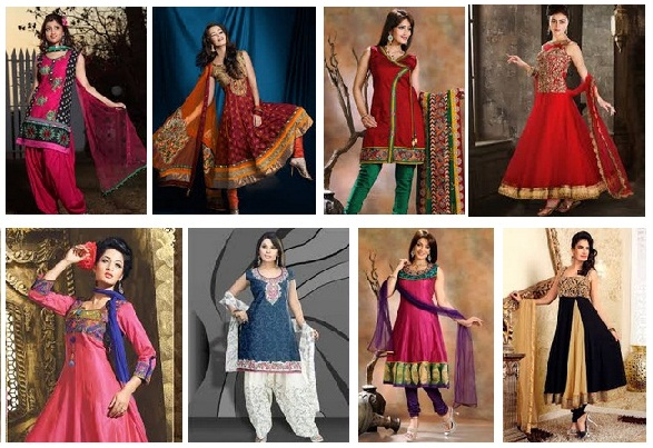 Readymade Salwar Suits designs