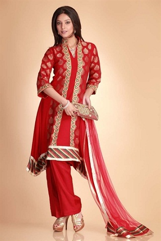 Red Bridal Salwar Suit