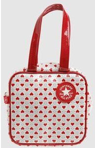 Red Colour Converse Handbags