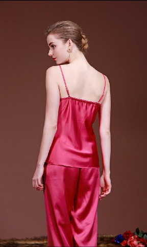 Red Satin Nightdress