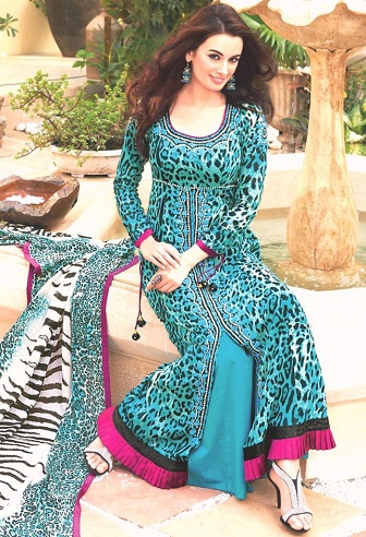 Round Neck Designer Salwar Suits