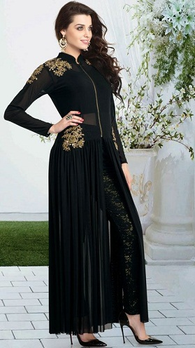 Salwar Kameez with Front Zip