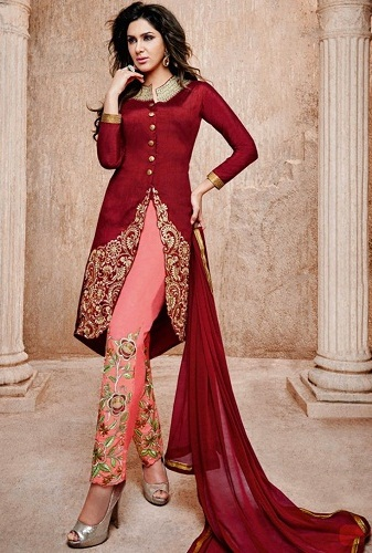 Salwar Suit with Designer Churidar