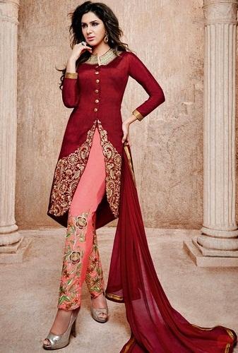 Salwar Suit with Designer Churidar
